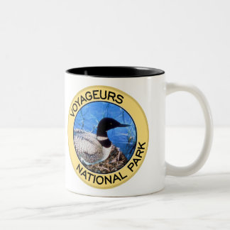 Voyageurs National Park Two-Tone Coffee Mug