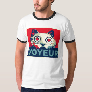 VOYEUR Cat Propaganda T-Shirt