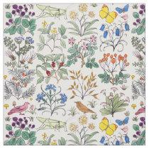 Voysey Apothecary's Garden Fabric