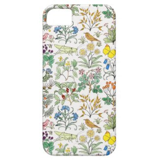 Voysey Apothecary's Garden Pattern iPhone 5 Case