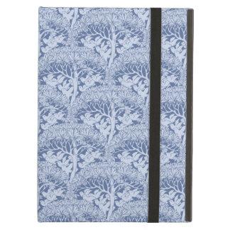 Voysey Art Nouveau Birds Trees Blue Pattern iPad Air Case