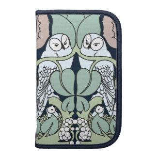 Voysey Art Nouveau Owl Nest Pattern Folio Planner
