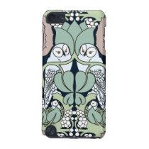 Voysey Art Nouveau Owl Nest Pattern iPod Case