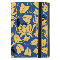 Voysey Blackbirds Birds Tulip Tree Chintz Pattern iPad Mini Case