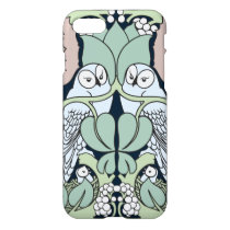 Voysey Owl Pattern Arts and Crafts Art Nouveau iPhone 7 Case