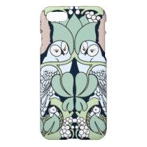 Voysey Owl Pattern Arts and Crafts Art Nouveau iPhone 8/7 Case