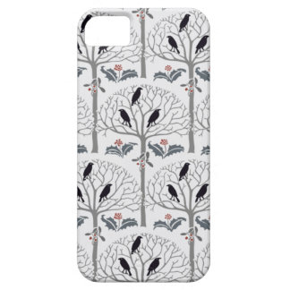 Voysey Rook and Holly Christmas Pattern iPhone SE/5/5s Case