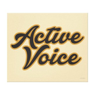 Voz activa impresion en lona