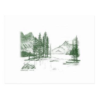 Voz de la montaña tarjeta postal