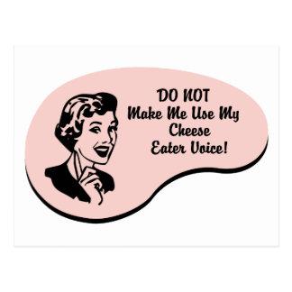 Voz del comedor del queso postal