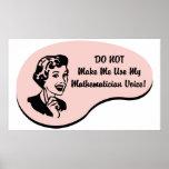 Voz del matemático poster