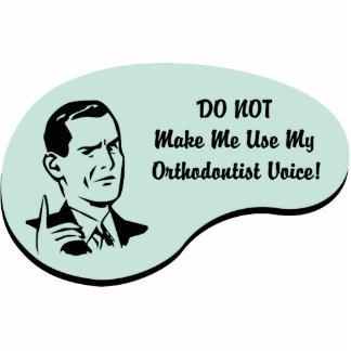 Voz del Orthodontist Adorno Fotoescultura