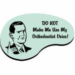Voz del Orthodontist Escultura Fotografica