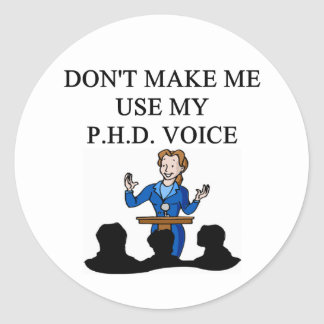 Voz del PHD Etiqueta