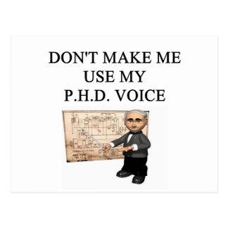 Voz del PHD Tarjetas Postales