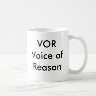 Voz del VOR de la taza de la razón