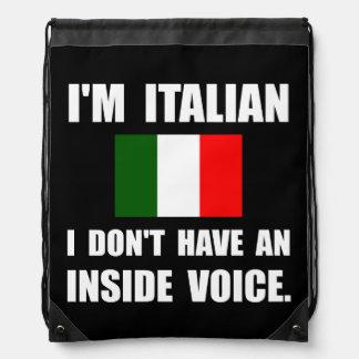 Voz interior del italiano mochilas