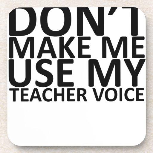 Voz Shirt.png del profesor Posavasos