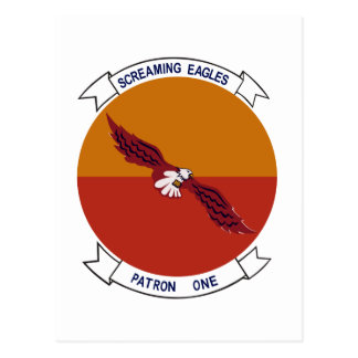 VP-1 Screaming Eagles Postcard