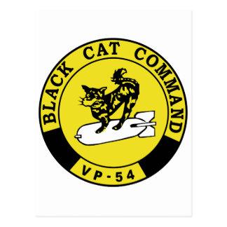 VP-45 Black Cats Postcard