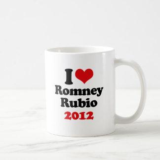 VP LOVE RUBIO CHRISTIE.png Classic White Coffee Mug