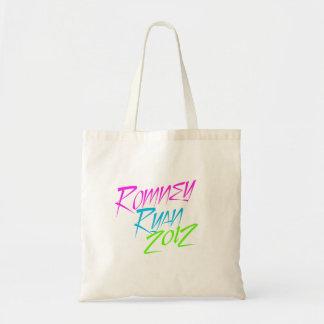 VP NEON ROMNEY RYAN png Canvas Bag