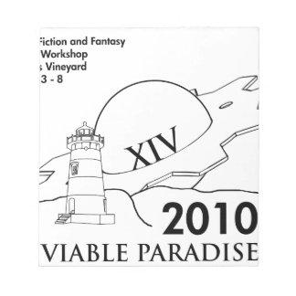 VP XIV (2010) NOTEPAD