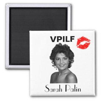 VPILF:  Sarah Palin 2 Inch Square Magnet