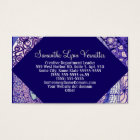 VPQ-Shades of Blue Business Card