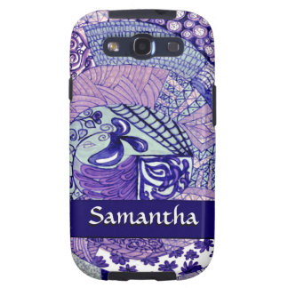 VPQ-Shades of Blue Samsung Galaxy S3 Case