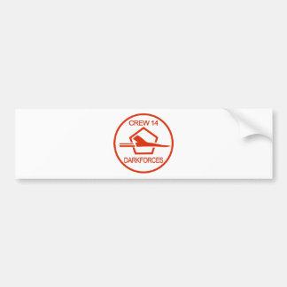 vpu-2 etiqueta de parachoque