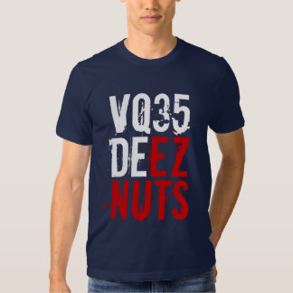 VQ35 DEEZ NUTS (red / white) T-shirt