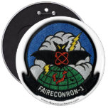 VQ-1 patch 6in. button