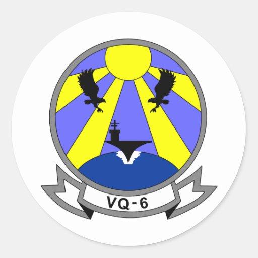 VQ-6 PEGATINA REDONDA