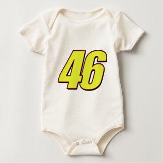 VR46redline Baby Bodysuits