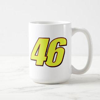 VR46redline Classic White Coffee Mug