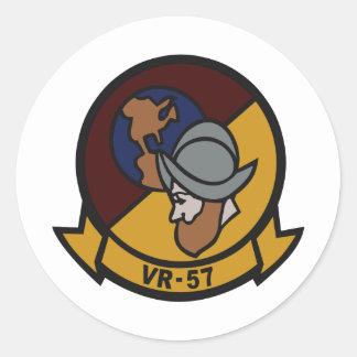 VR-57 CLASSIC ROUND STICKER