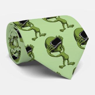 VR Alien Neck Tie