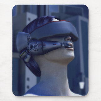 VR in the City Mouse Pad