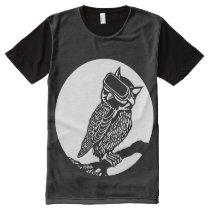 VR Owl All-Over-Print Shirt