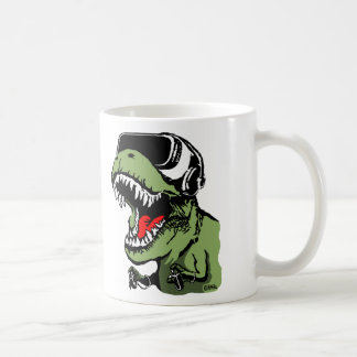 VR T-rex Coffee Mug