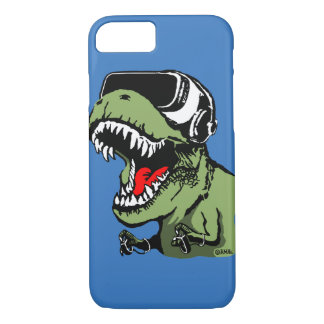 VR T-rex iPhone 8/7 Case