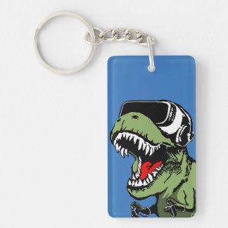 VR T-rex Keychain