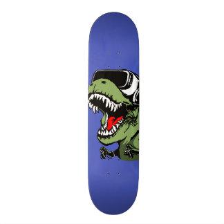 VR T-rex Skateboard Deck