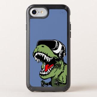 VR T-rex Speck iPhone Case
