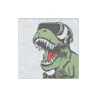 VR T-rex Stone Magnet