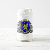 Vrbanac Family Arms Beer Stein