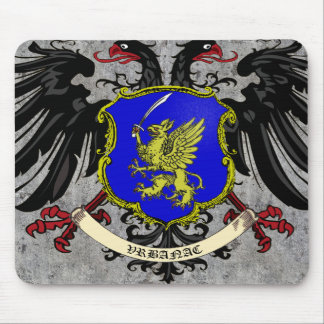 Vrbanac Family Arms Mouse Pad