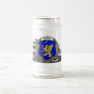 Vrbanac Family Arms 18 Oz Beer Stein