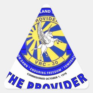 VRC-30 THE PROVIDERS U.S. NAVY TRIANGLE STICKER